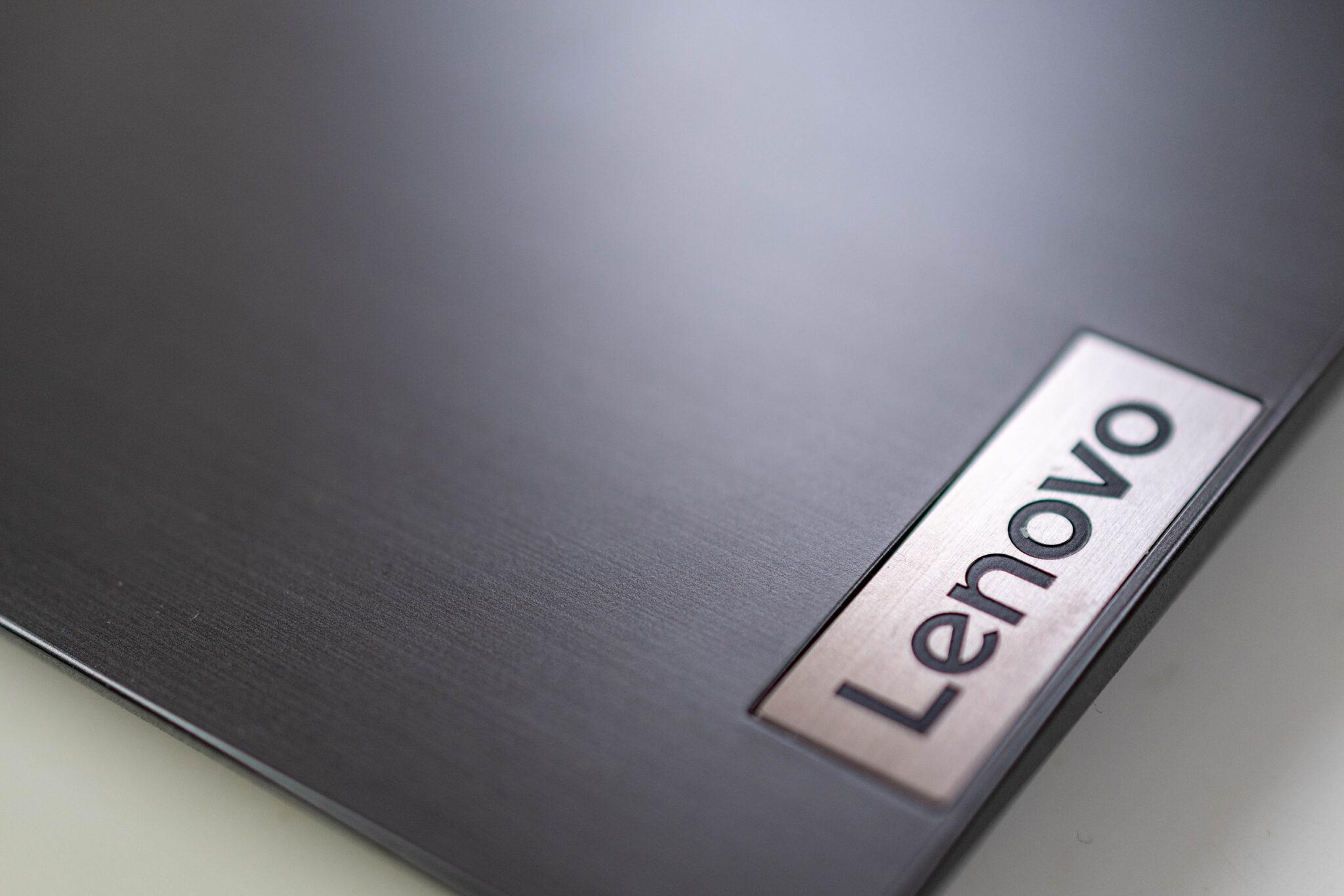 Das Design des Lenovo V17 ist schlicht