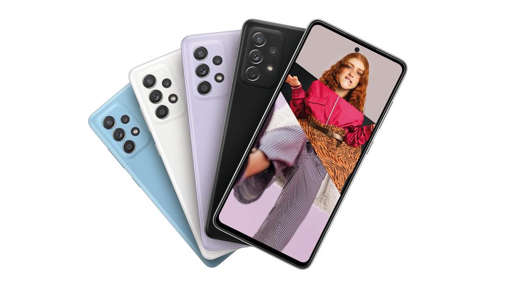 Galaxy A52 & A72: Samsung zeigt seine neue Mittelklasse