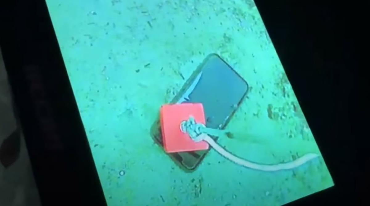 Wasserdicht: Apple iPhone 11 Pro überlebt einen Monat im gefrorenen See