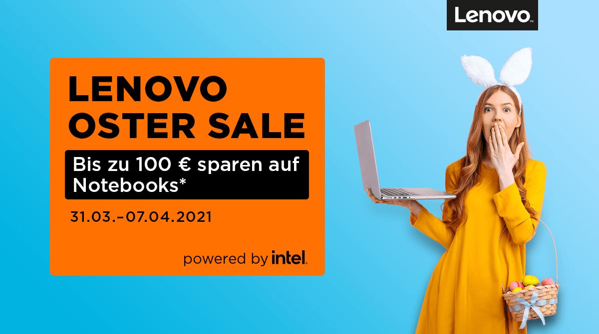 Spare bis zu 100 Euro beim Lenovo Oster Sale
