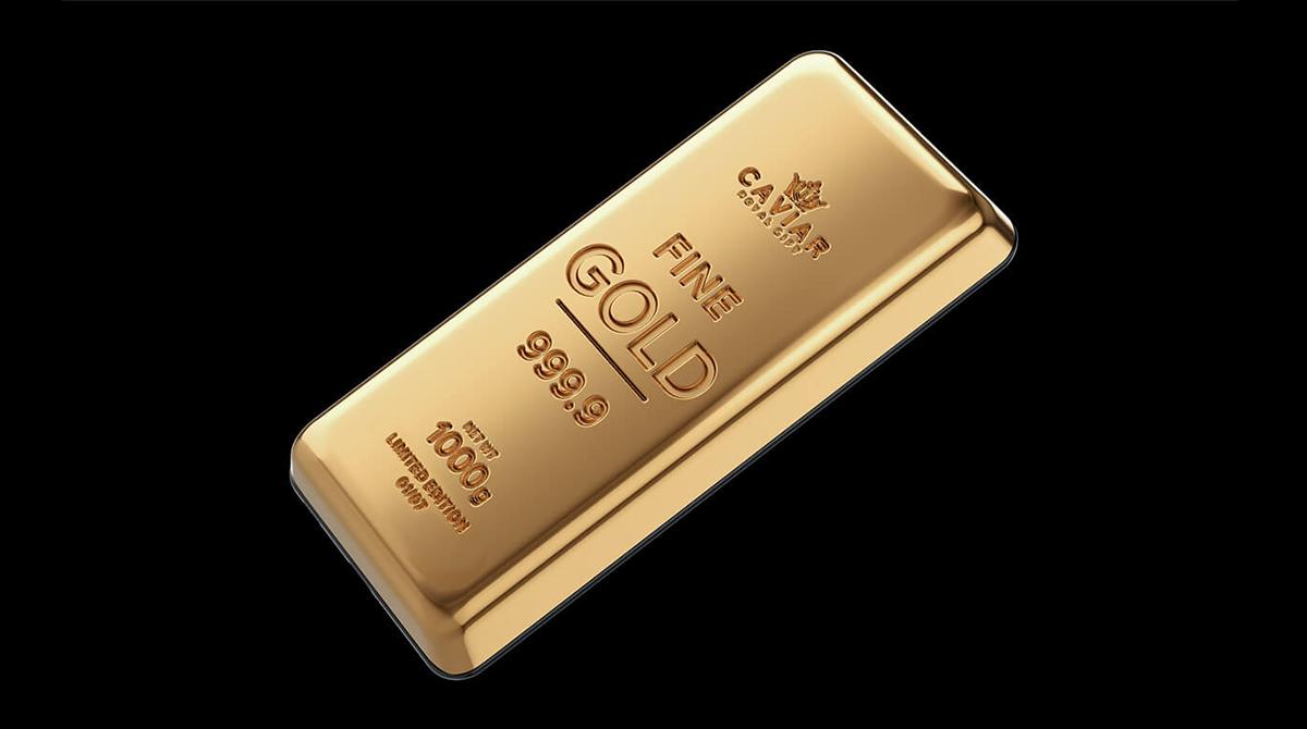 Caviar: 150.000€ für ein Galaxy S21 Ultra mit 1 Kilo Gold