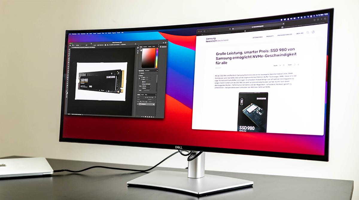 Dell UltraSharp U3421WE im Test: Der EINE Monitor fürs Home Office