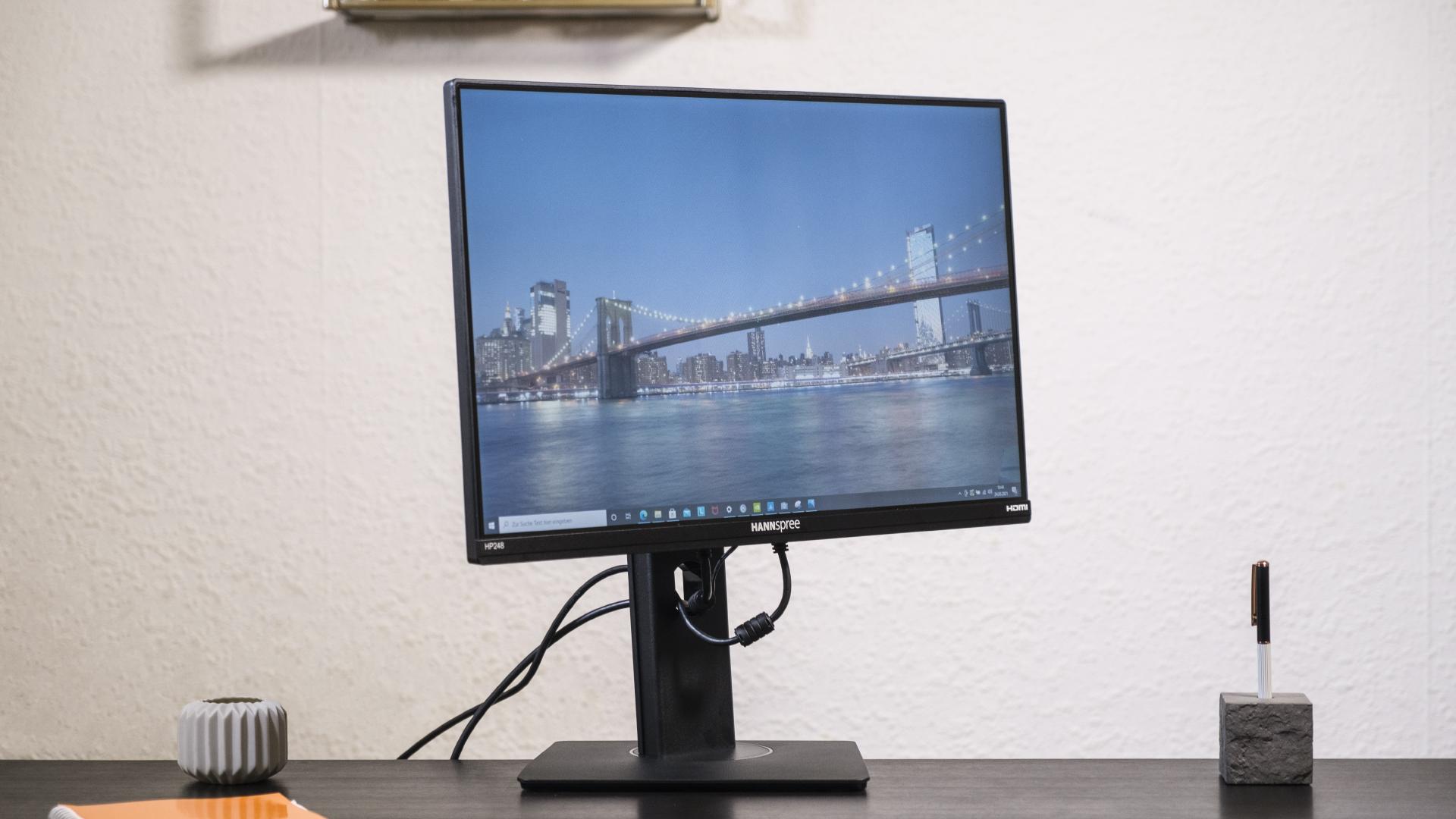 Hannspree 248WJB Office Monitor Schwenkwinkel maximal