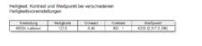 Hannspree HP248WJB Weißpunkt Kontrast 6500k kalibriert