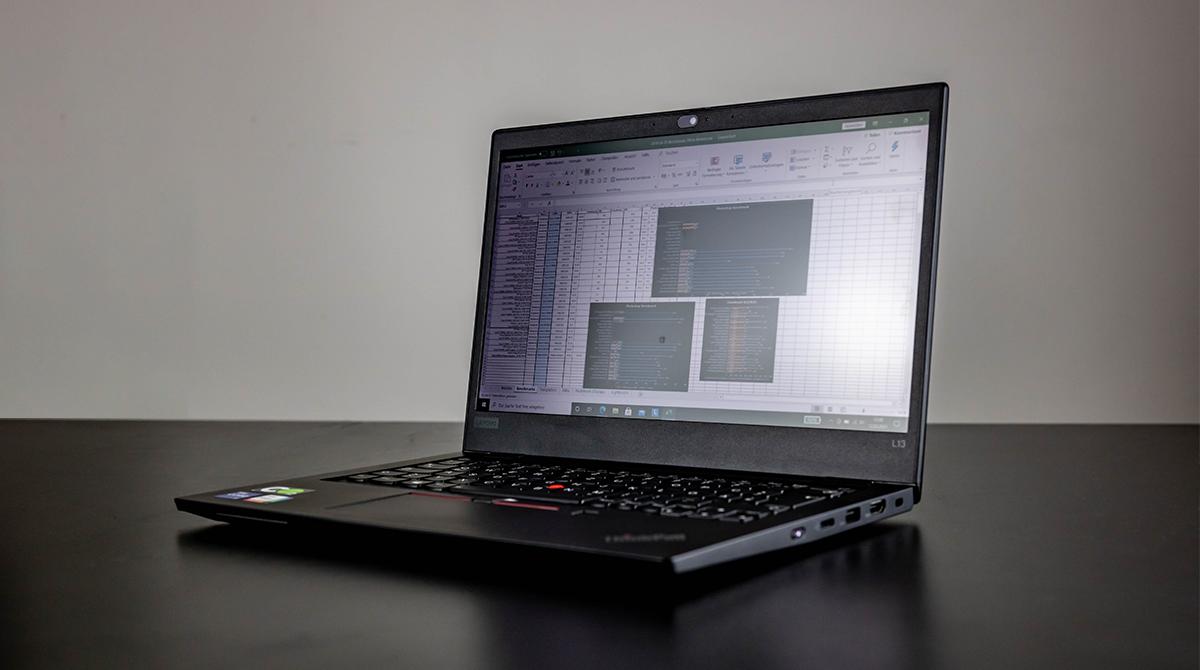Lenovo ThinkPad L13 im Test: Ein echtes Arbeitstier