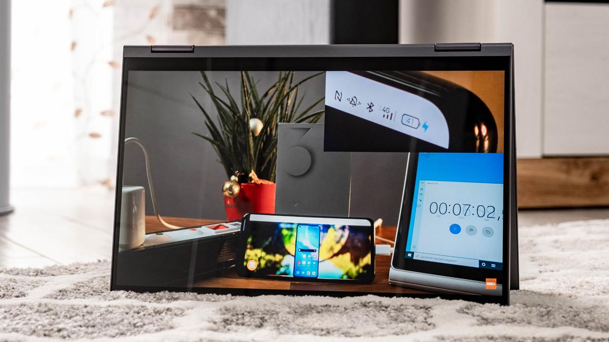 Lenovo Yoga 7 im Test: Das Business-Convertible mit Pen & Power ist High-Potential