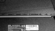 MSI Optix MAG274QRF-QD Anschluesse Ports 2