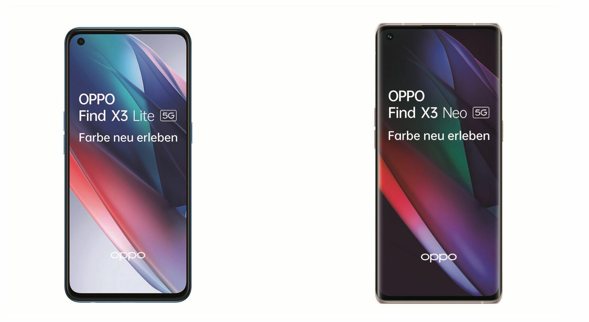 OPPO FIND X3 Lite OPPO Find X3 Neo