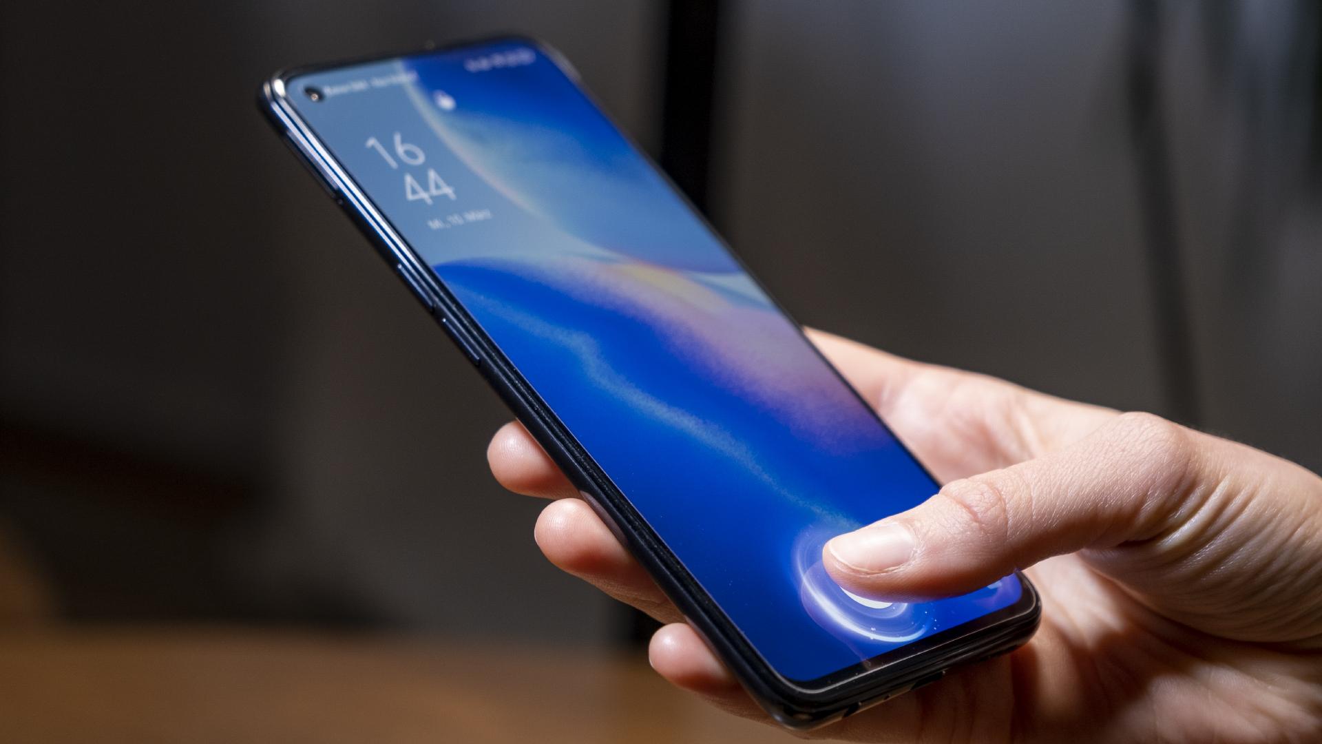 OPPO Find X3 Lite 5G Fingerabdruckleser
