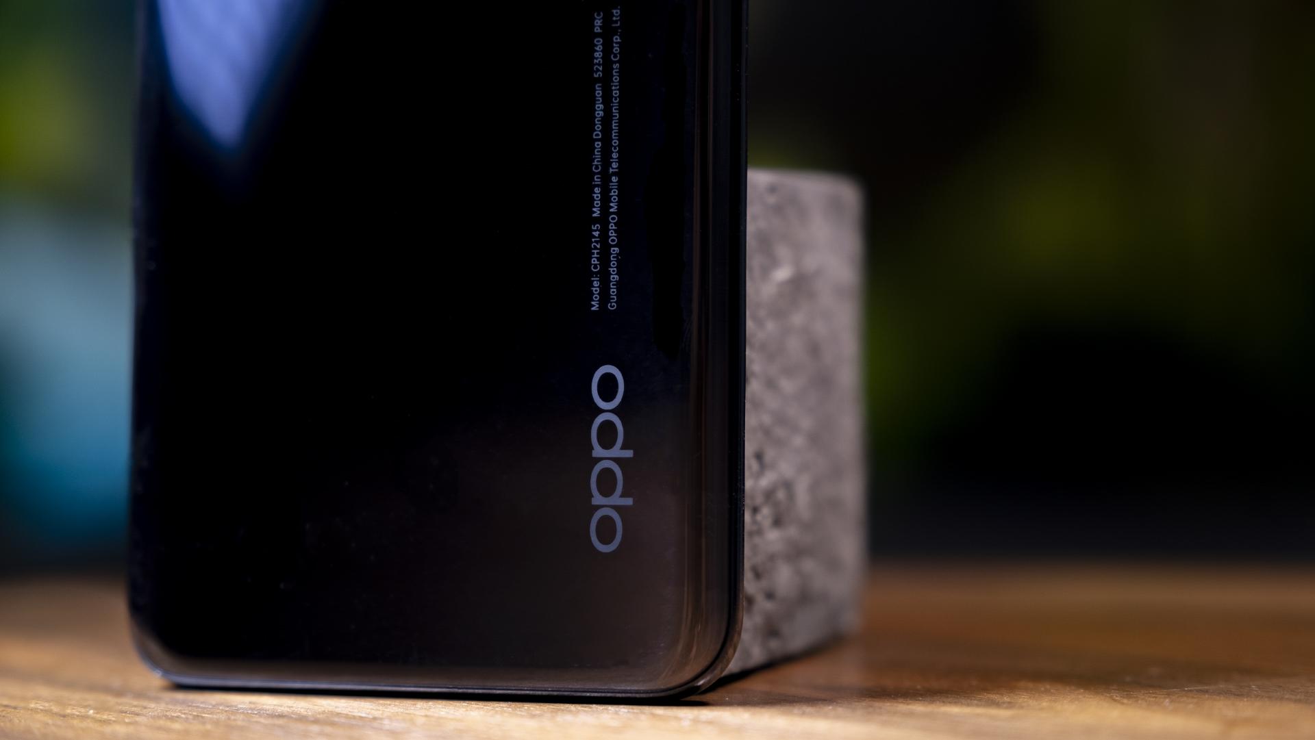 OPPO Find X3 Lite 5G Rückseite Logo