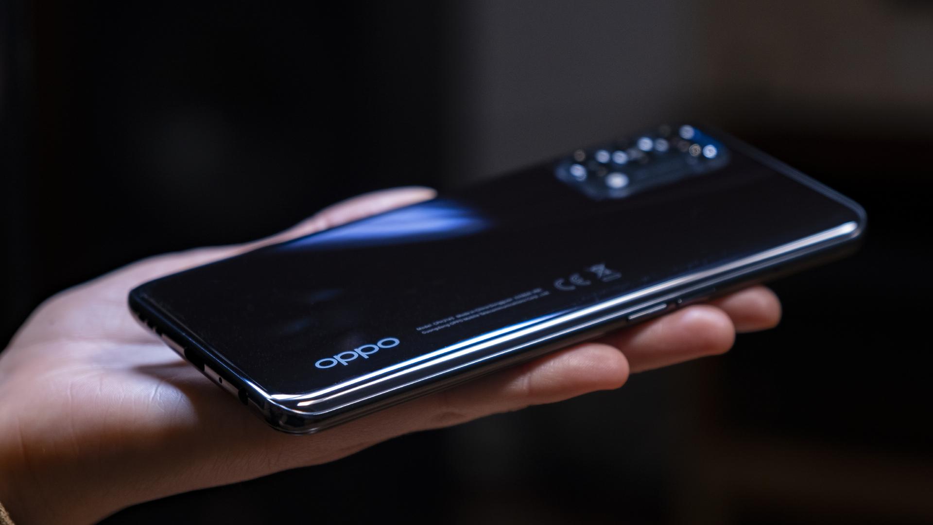 OPPO Find X3 Lite 5G Rückseite Schwarz 2