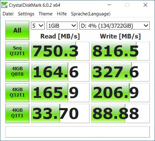 crucial x6 4tb benchmark