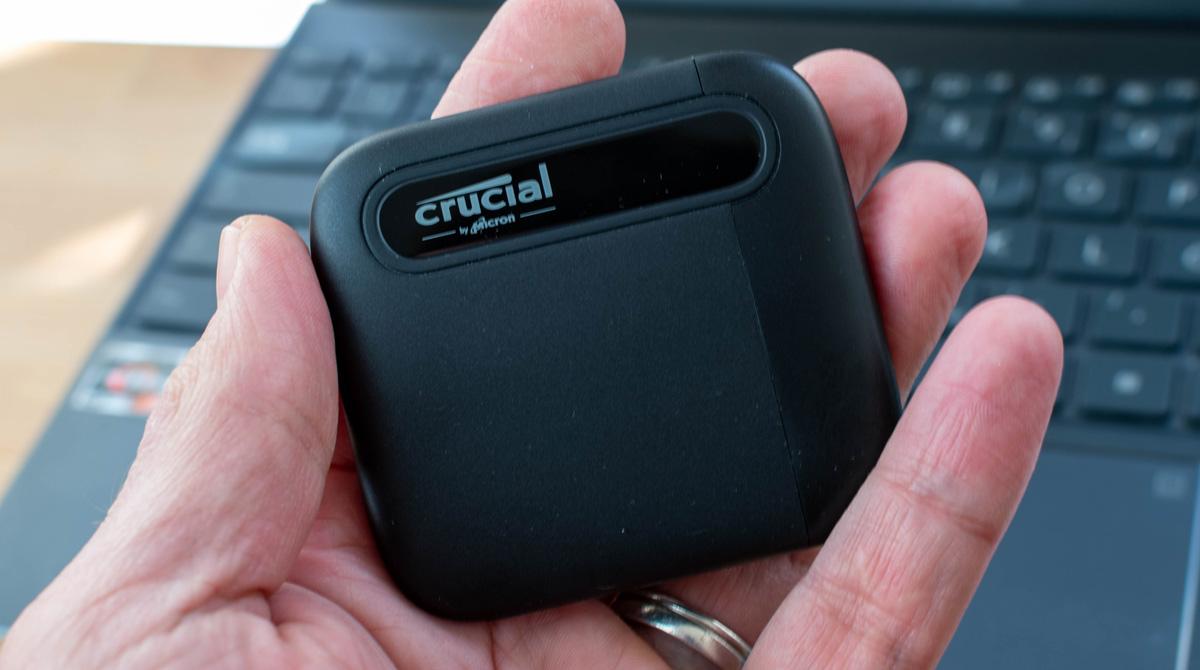 Crucial X6 4 TB: Handliche und schnelle externe SSD