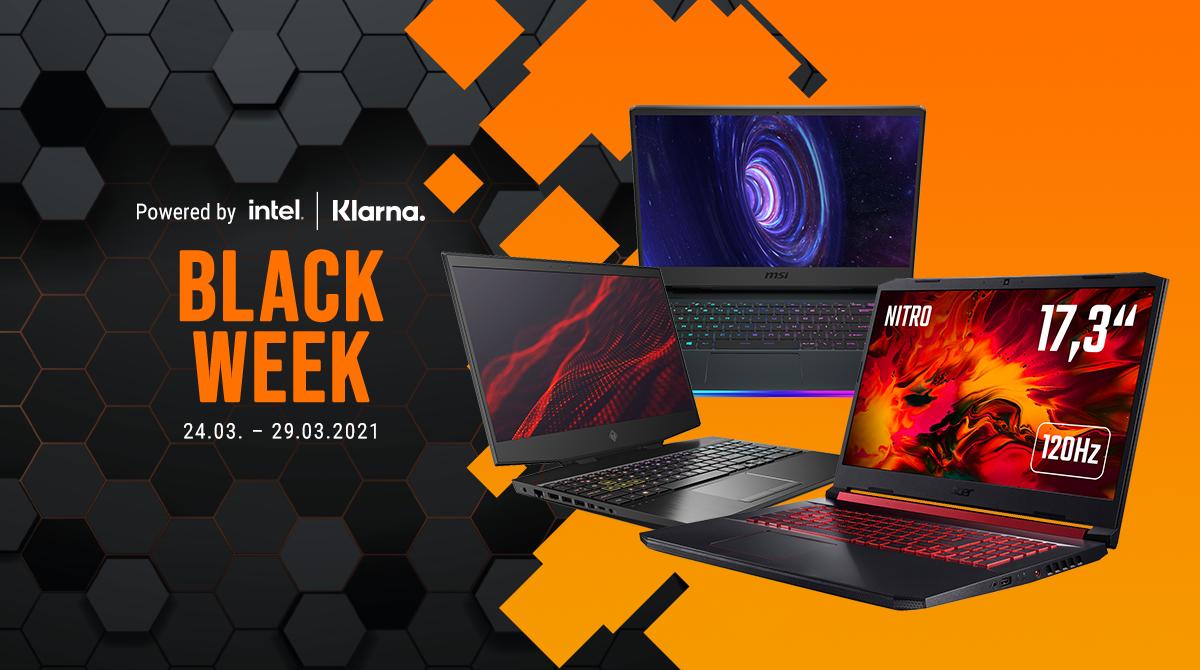 Black Week: Die besten Gaming-Notebook-Deals bis 1100 & 2200 Euro + ein Geheimtipp