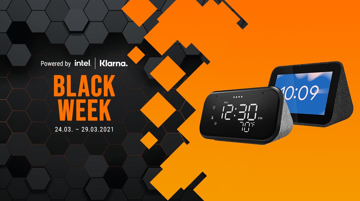 Black Week: Spart bis zu 50% auf Smart-Home-Artikel von Lenovo