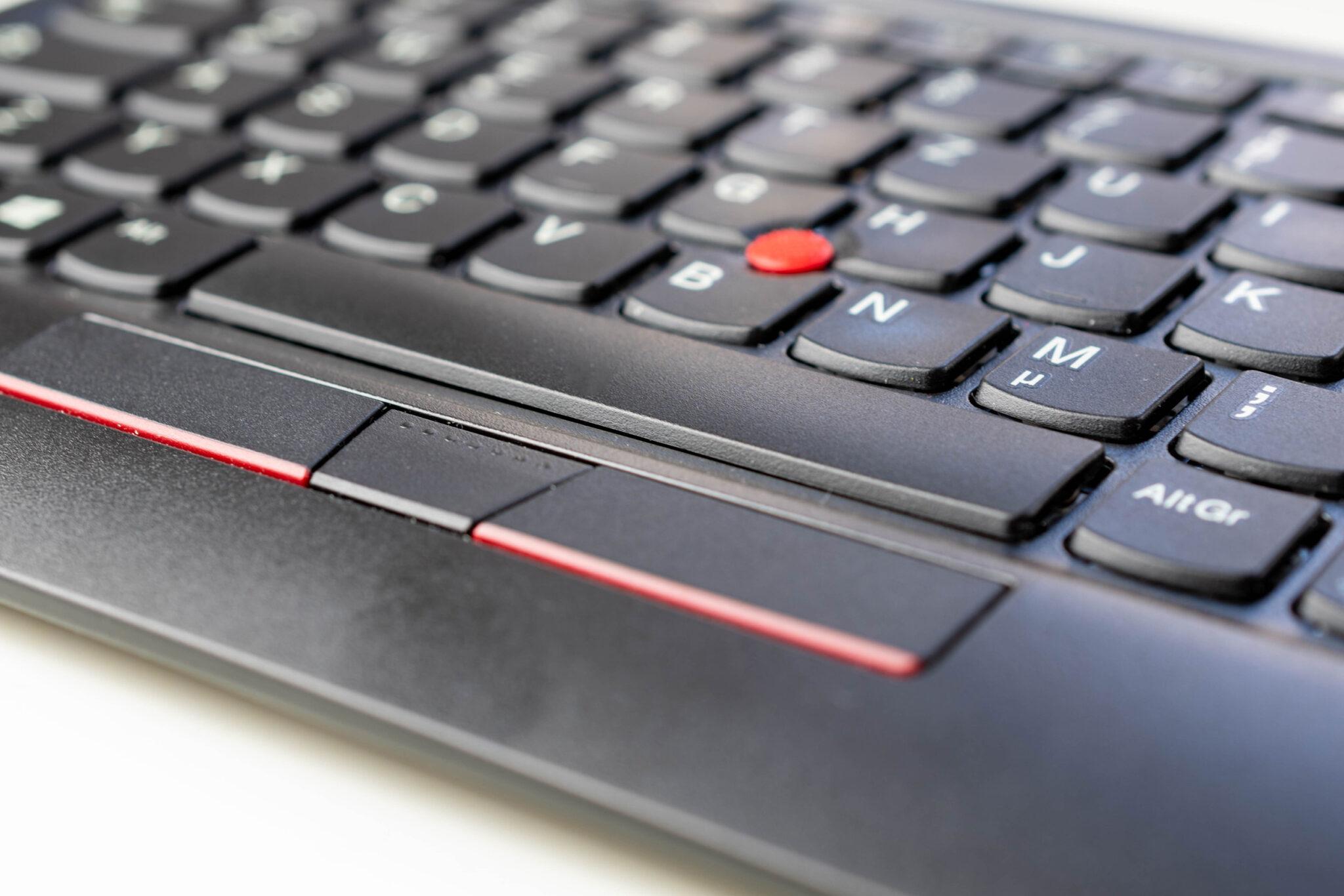 Lenovo ThinkPad TrackPoint Keyboard 2 Test