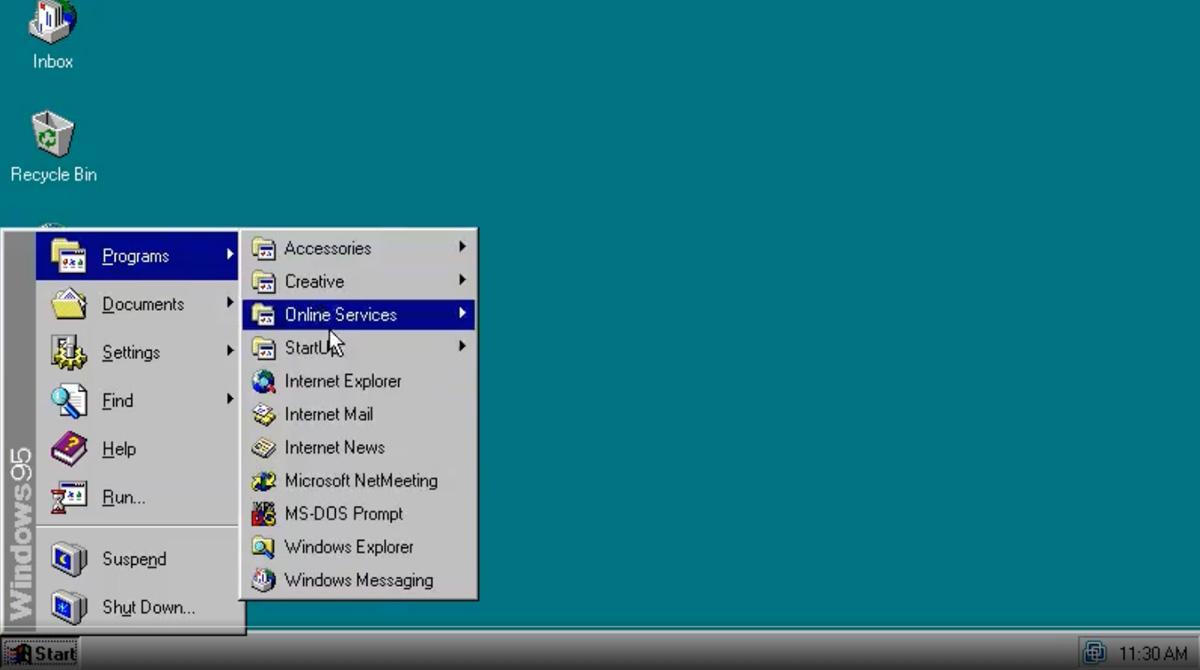 Gut versteckt: Easter-Egg in Windows 95 gefunden