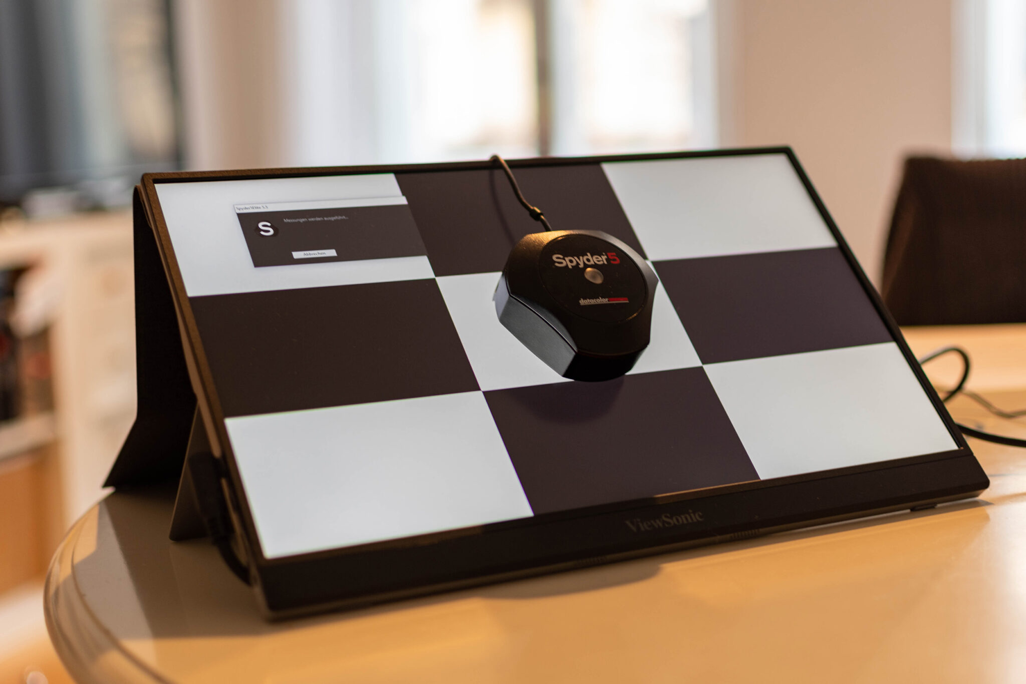 ViewSonic VG1655 Displaykalibrierung