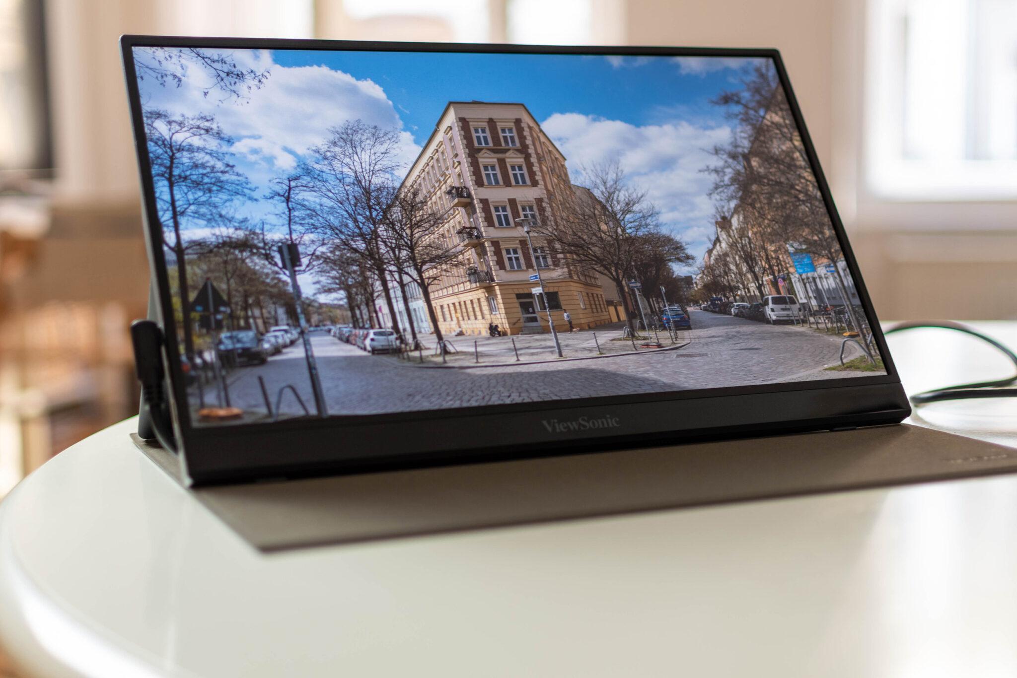 ViewSonic VG1655 mobiler Monitor im Test