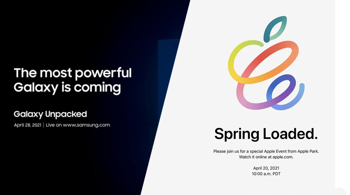 Samsung & Apple: Hardware-Events noch im April