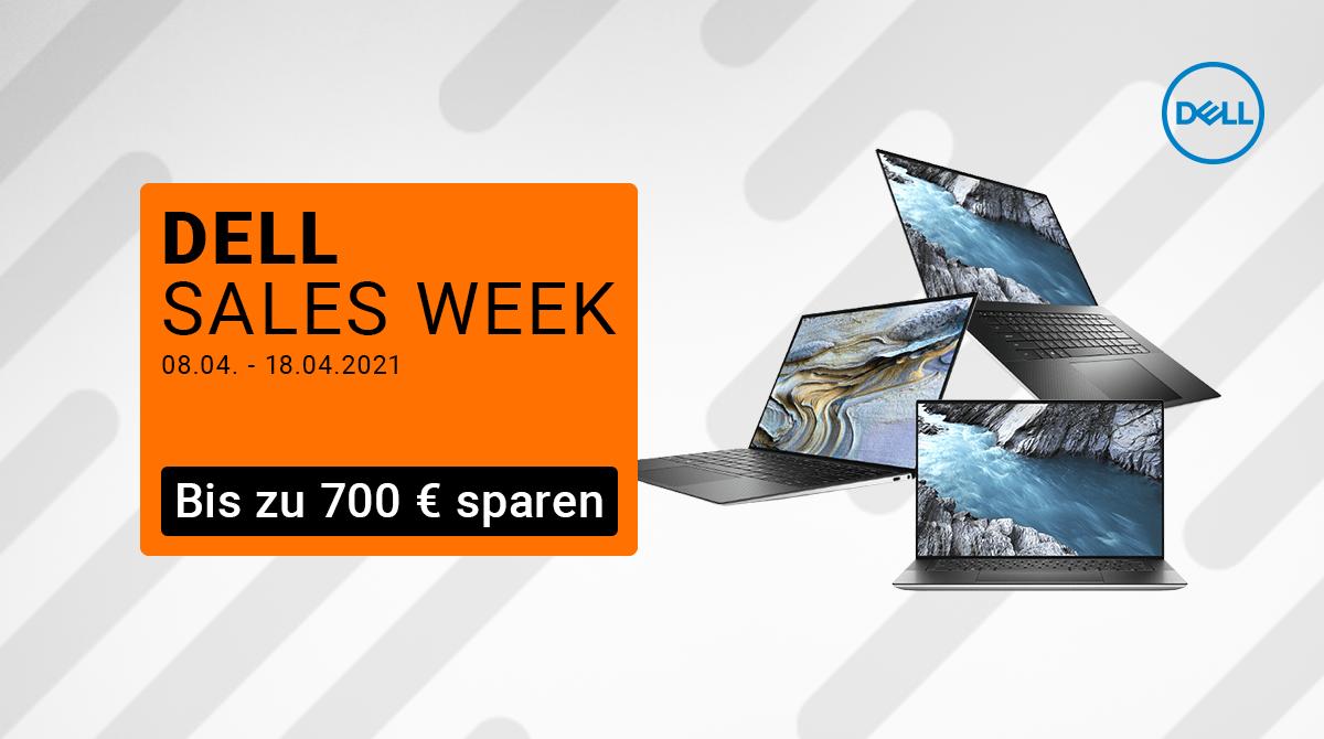 Spare bis zu 700 Euro bei der Dell Sales Week