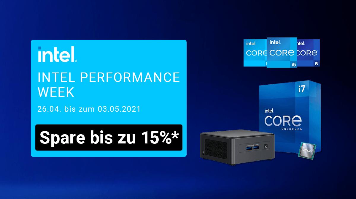 NUCs & Hardware: Spare bis zu 15% bei der Intel Performance Week