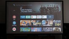 BenQ TH685i Gaming Beamer AndroidTV Hauptmenü