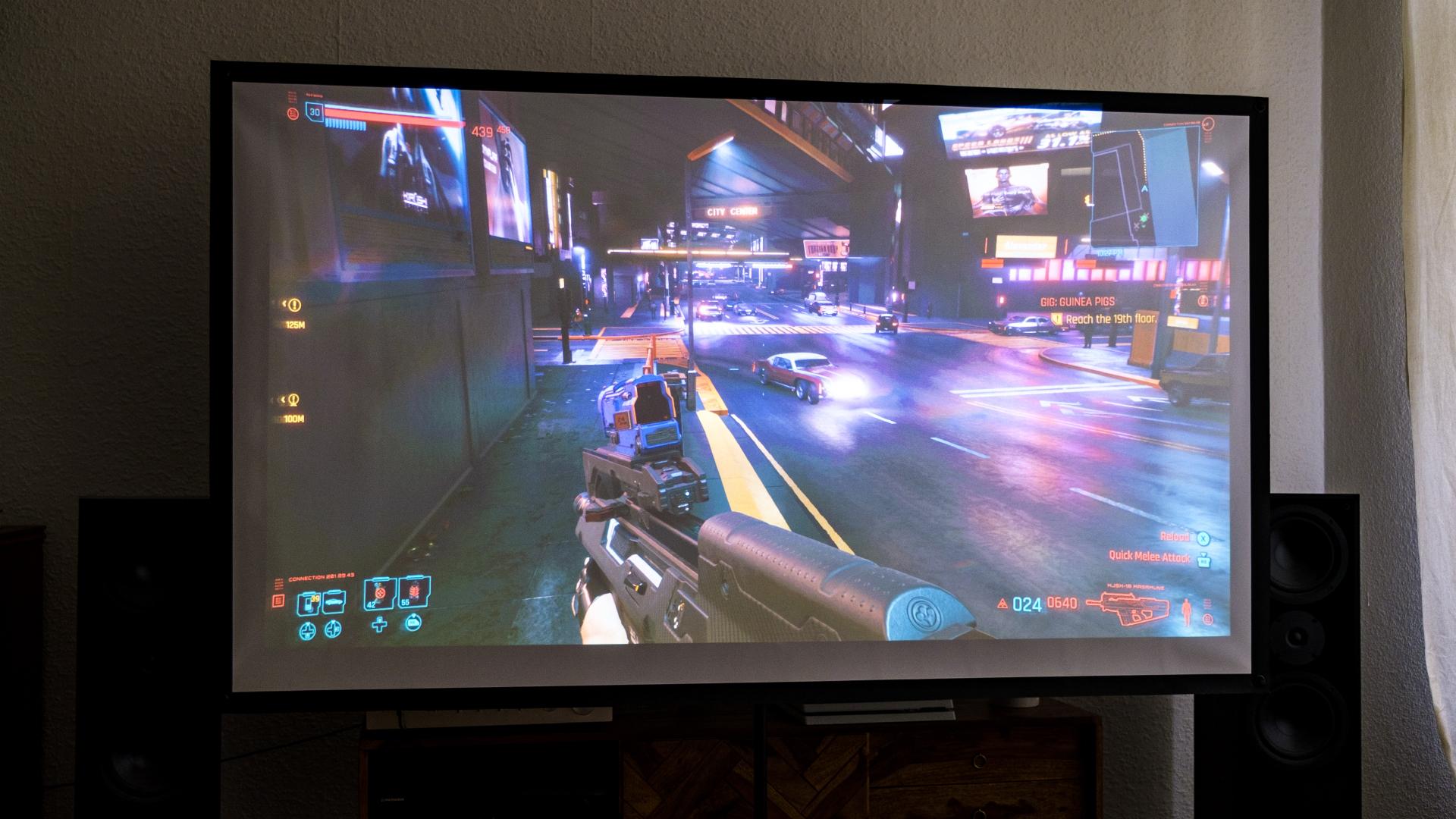 BenQ TH685i Gaming Beamer Cyberpunk 2