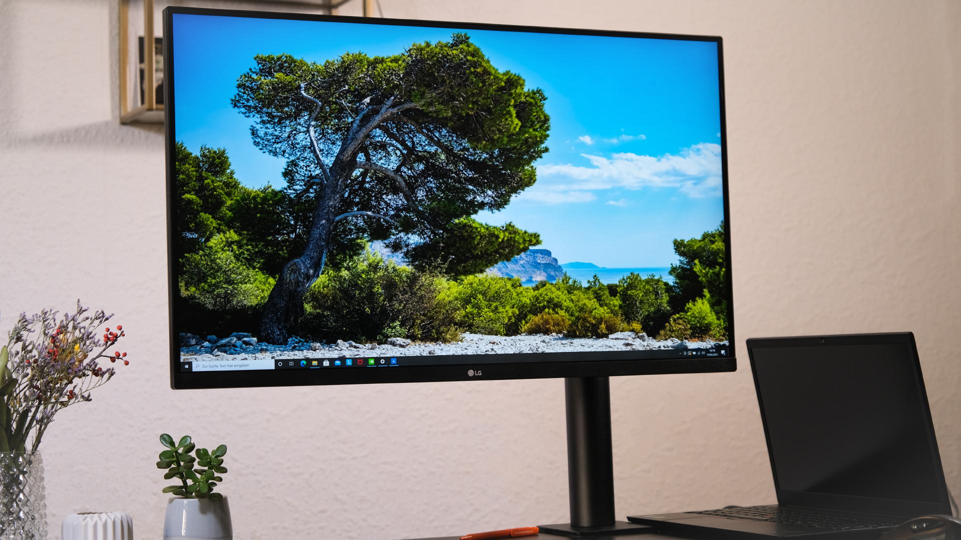 LG 32UN880-B Ergo Ultrafine Monitor Test Review Schlussbild Blog