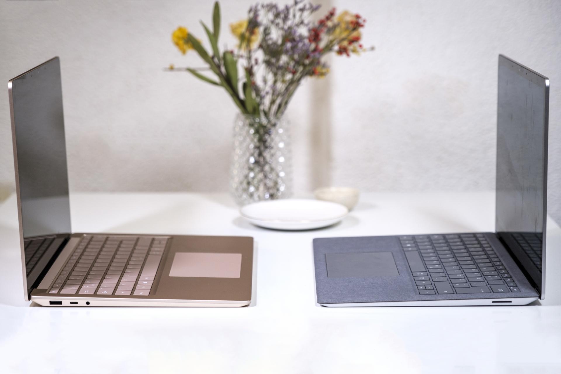 Microsoft Surface Laptop 4 13.5 – Intel- & AMD-Version im Vergleich