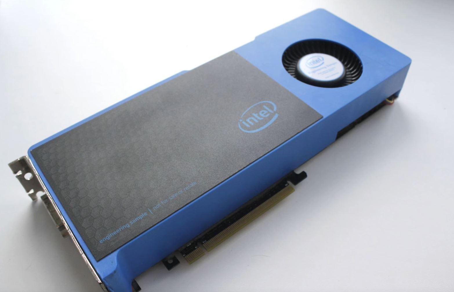 Moore's Law is Dead Intel Xe DG2 Engineering Sample