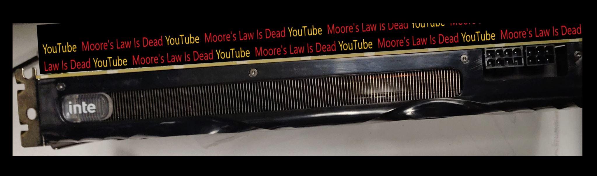 Moore's Law is Dead Intel Xe DG2 Leak
