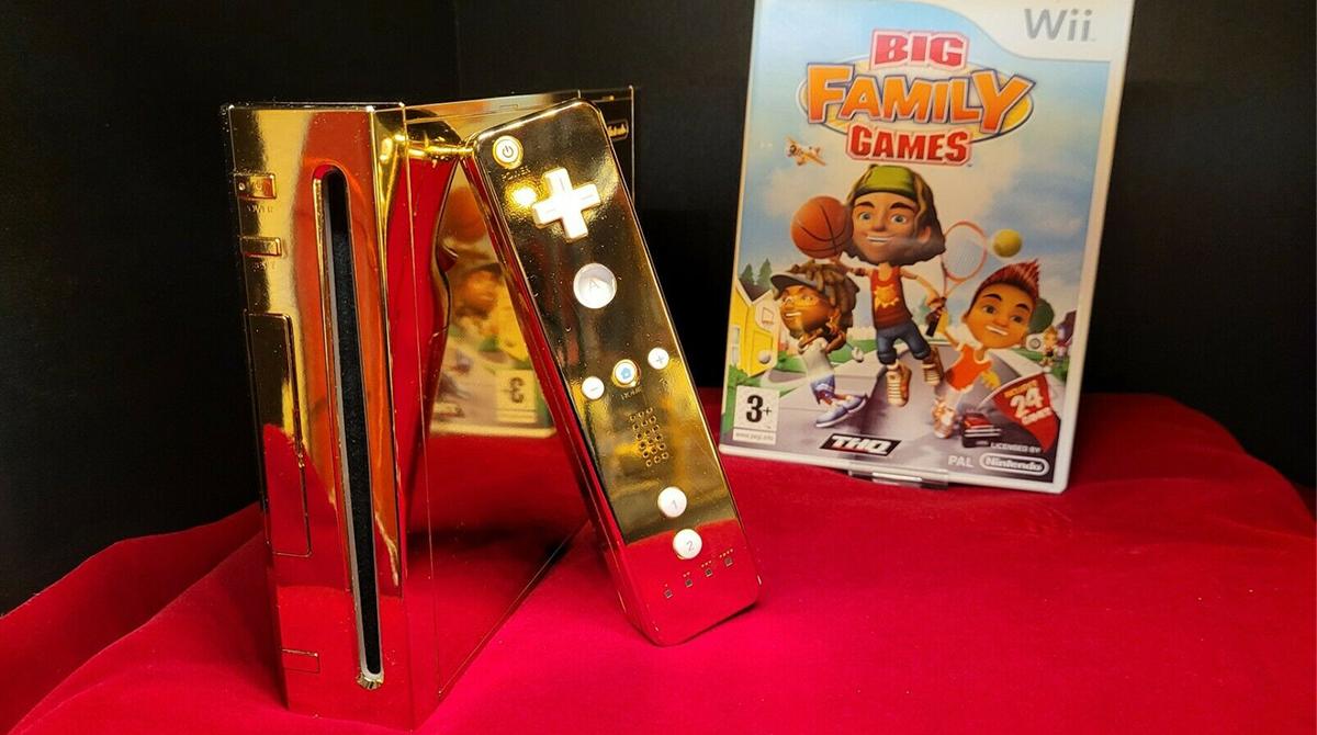 Nintendo Wii: Goldene Version für 300.000 US-Dollar zu haben