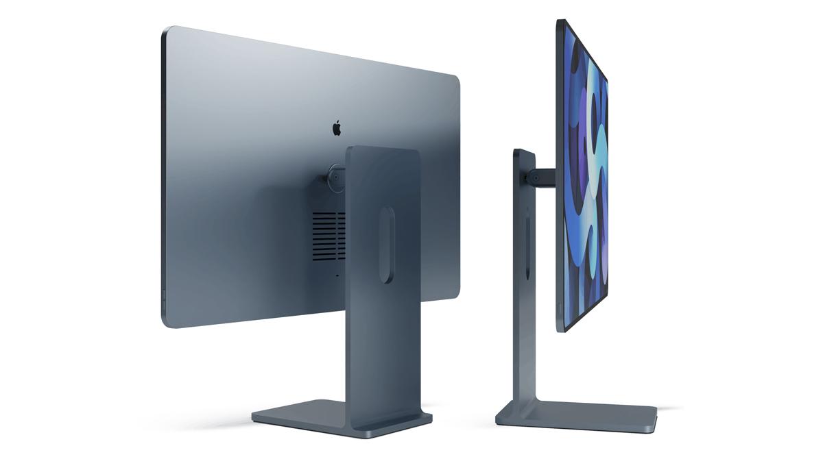 Design-Konzept: So könnte ein neuer iMac aussehen