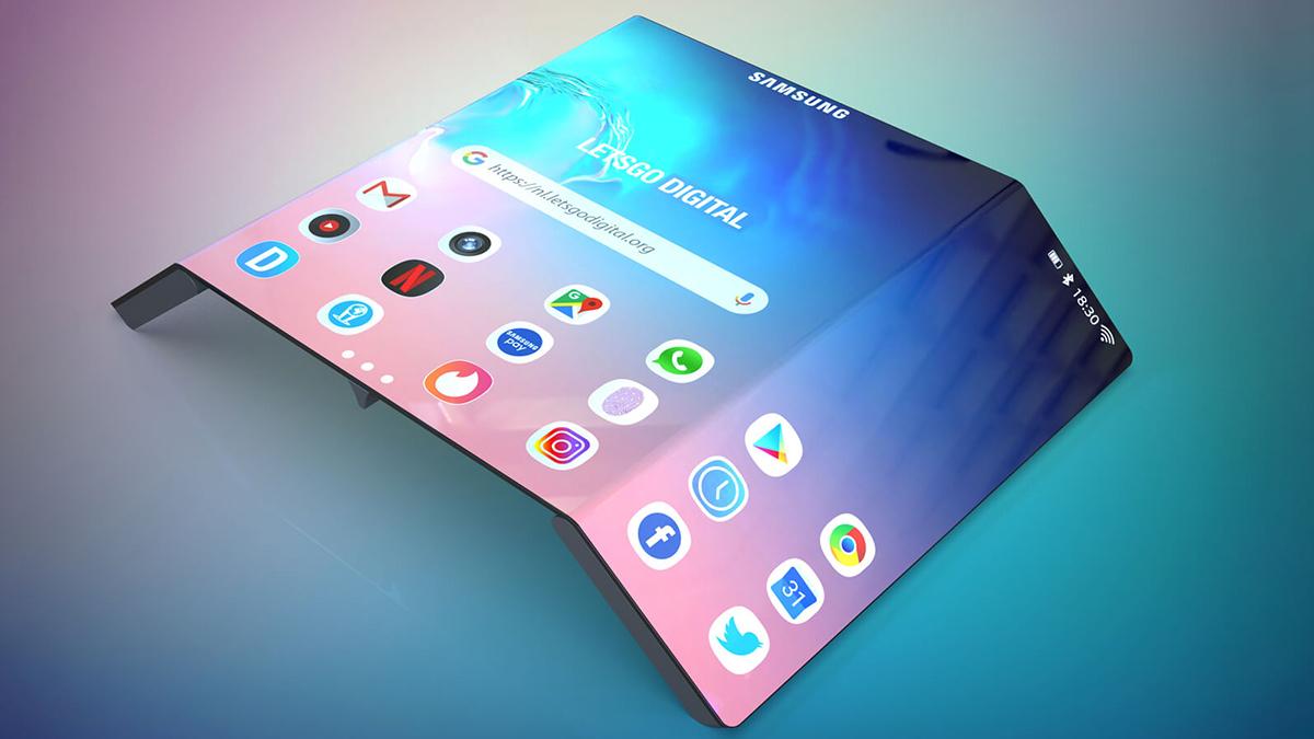 Patent für Samsung Foldable – Dreifaltigkeit mal anders