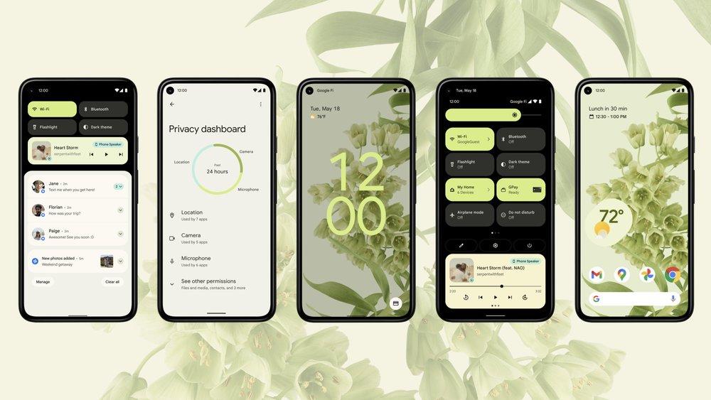 Android 12: Neues Design und mehr Personalisierung