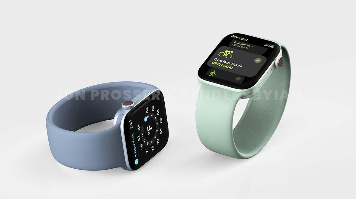Leak: Apple Watch Series 7 wird wohl ein flaches Design bekommen
