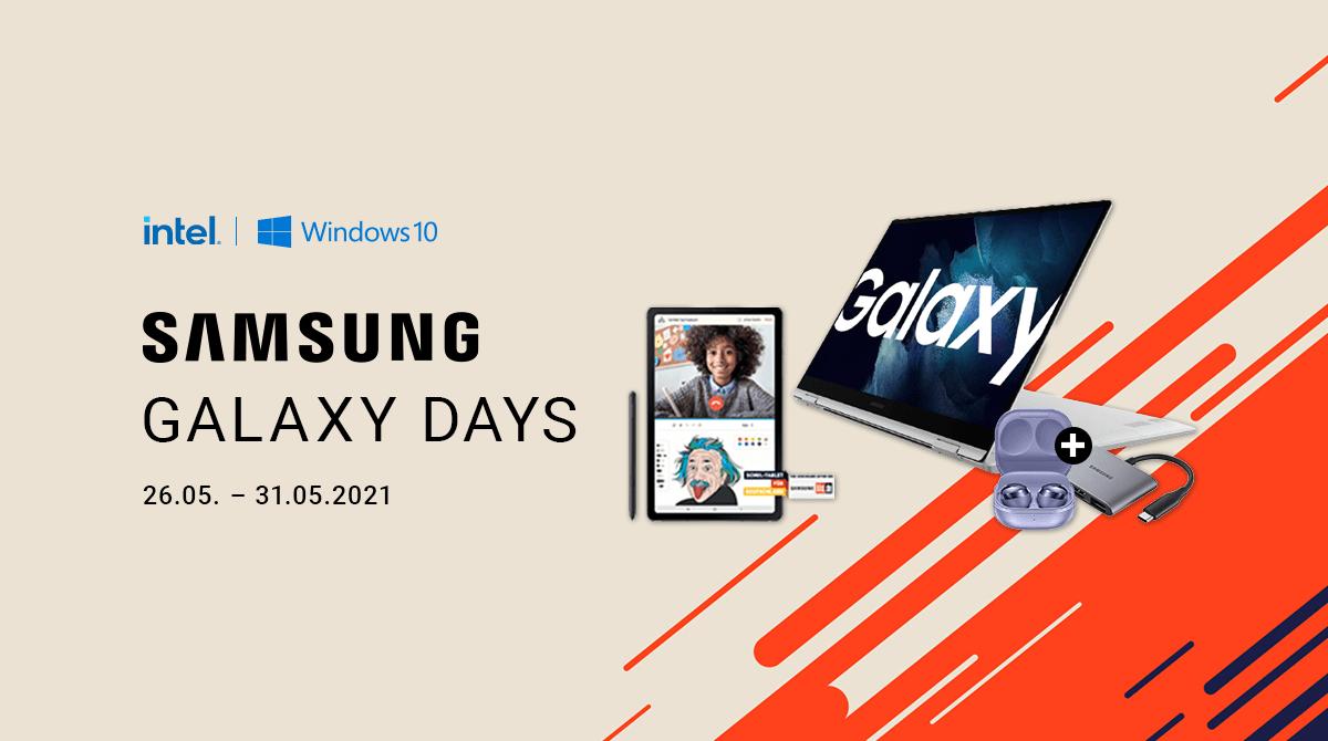Samsung Galaxy Days: Sicher dir Zugaben auf aktuelle Samsung-Notebooks
