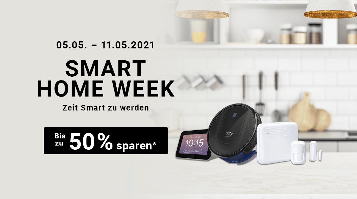 Spare bis zu 50% bei unserer Smart Home Week