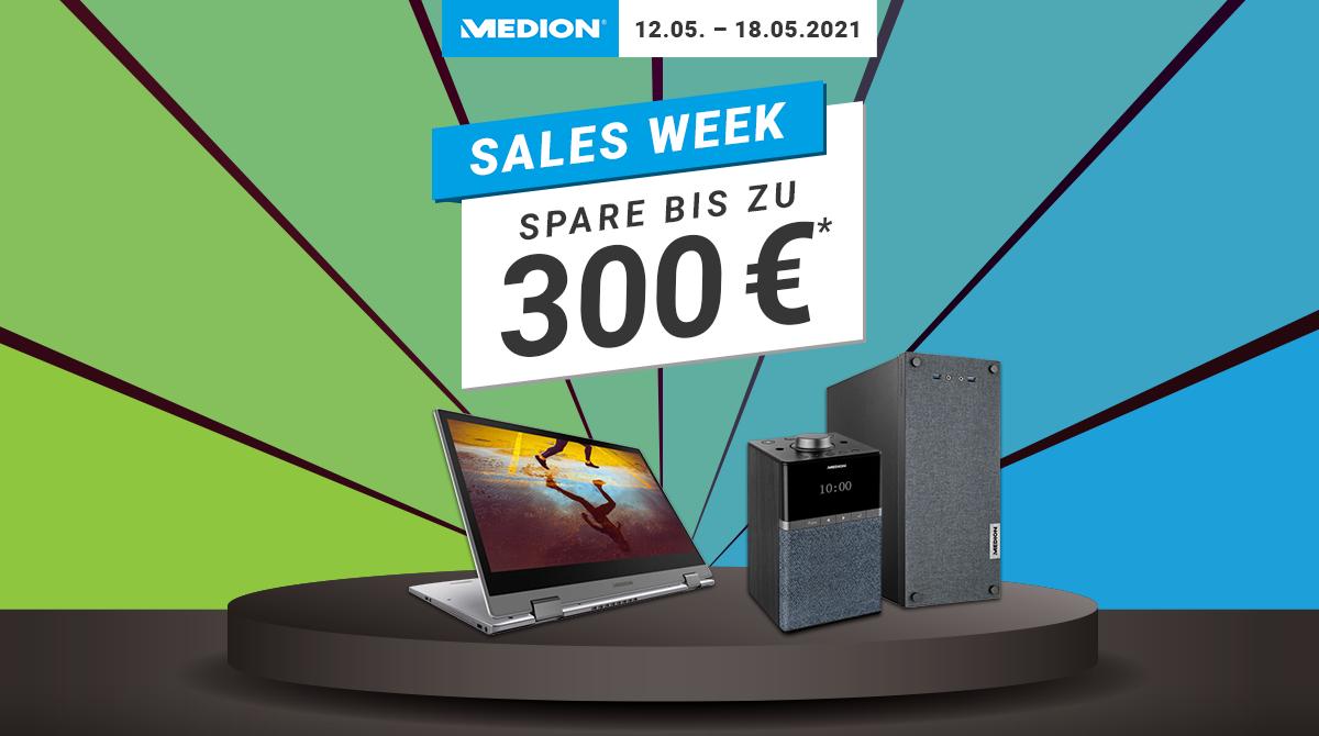 Medion Sales Week: Sicher dir bis zu 300 € Rabatt