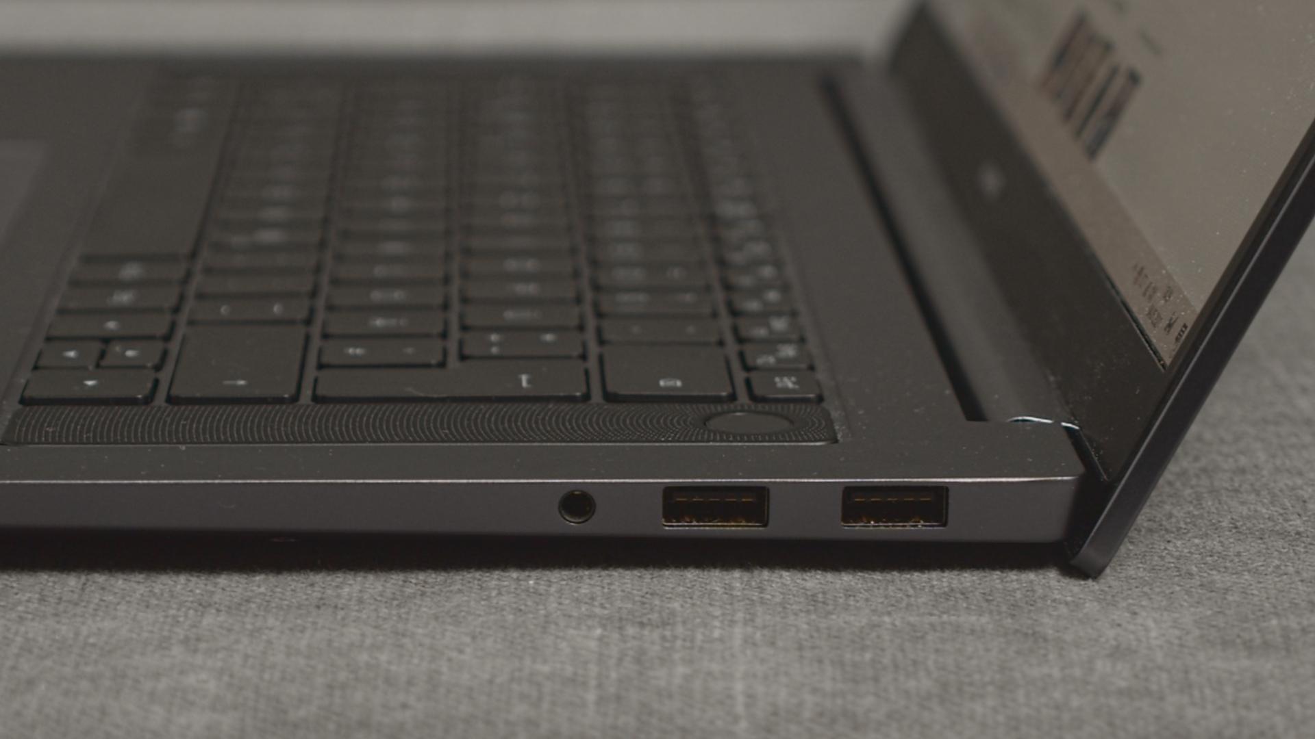 Huawei MateBook D16 keys