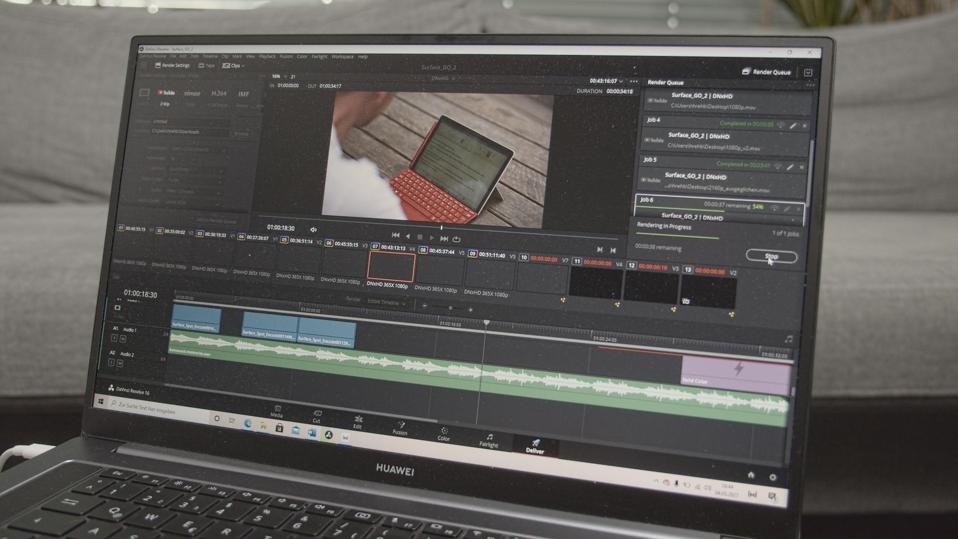 Huawei MateBook D16: Großer Creator-Laptop für kleinere Geldbeutel