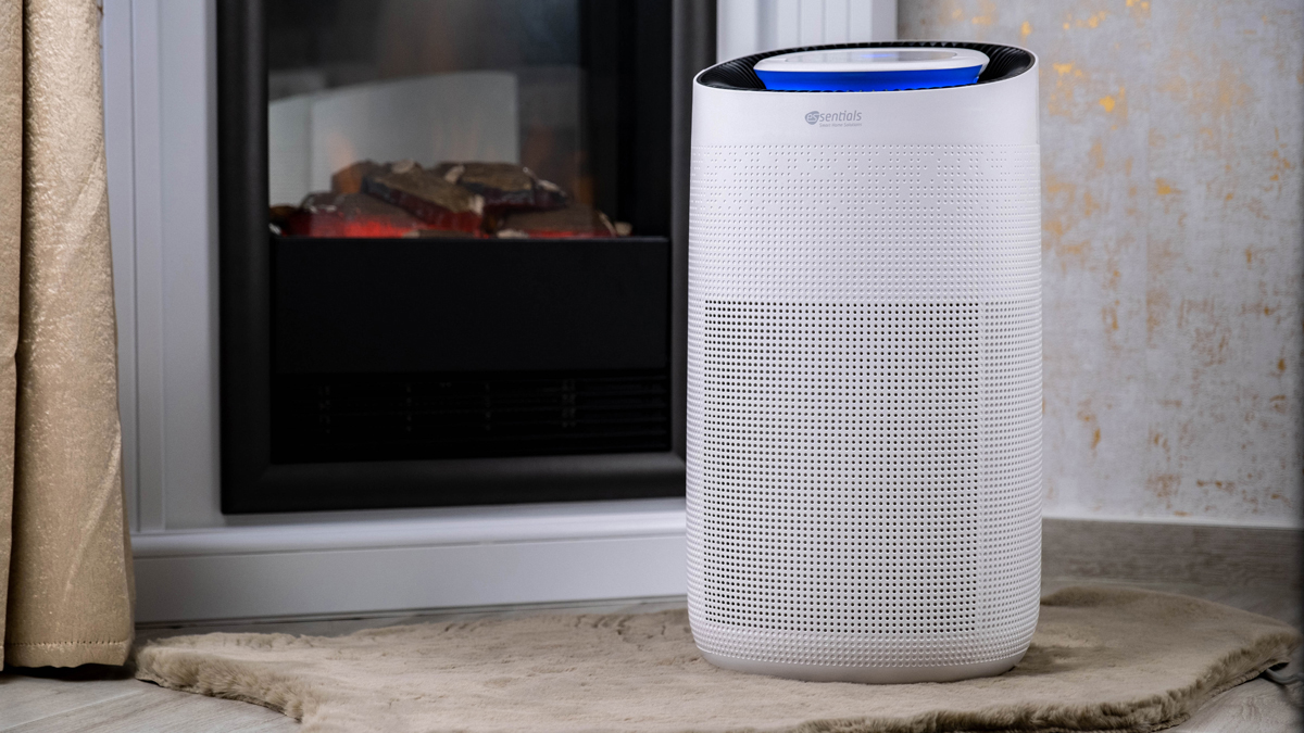 Mobiler Luftreiniger von essentials im Test: Luftqualität automatisiert, schnell & einfach verbessern