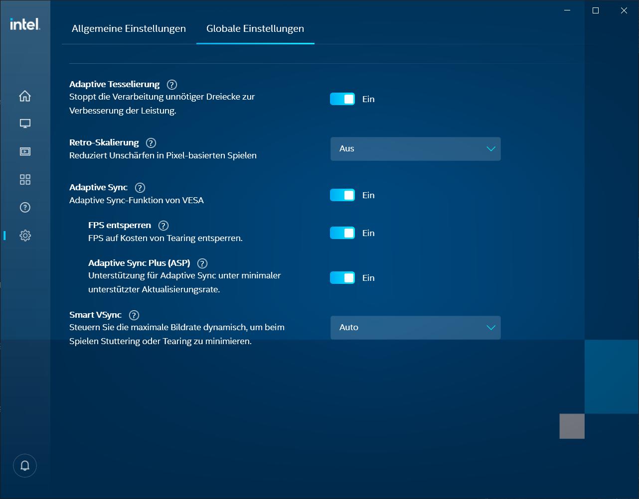 Lenovo V15 G2 Intel Xe Grafikraum