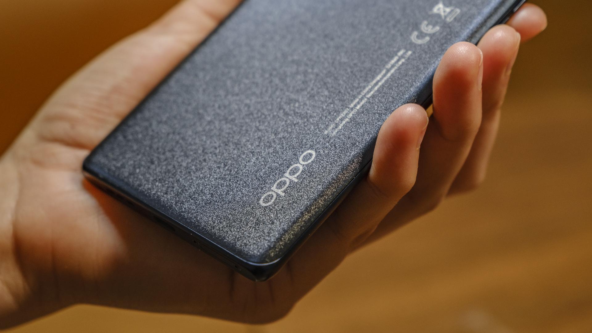 OPPO Find X3 Neo 5G Logo Rückseite
