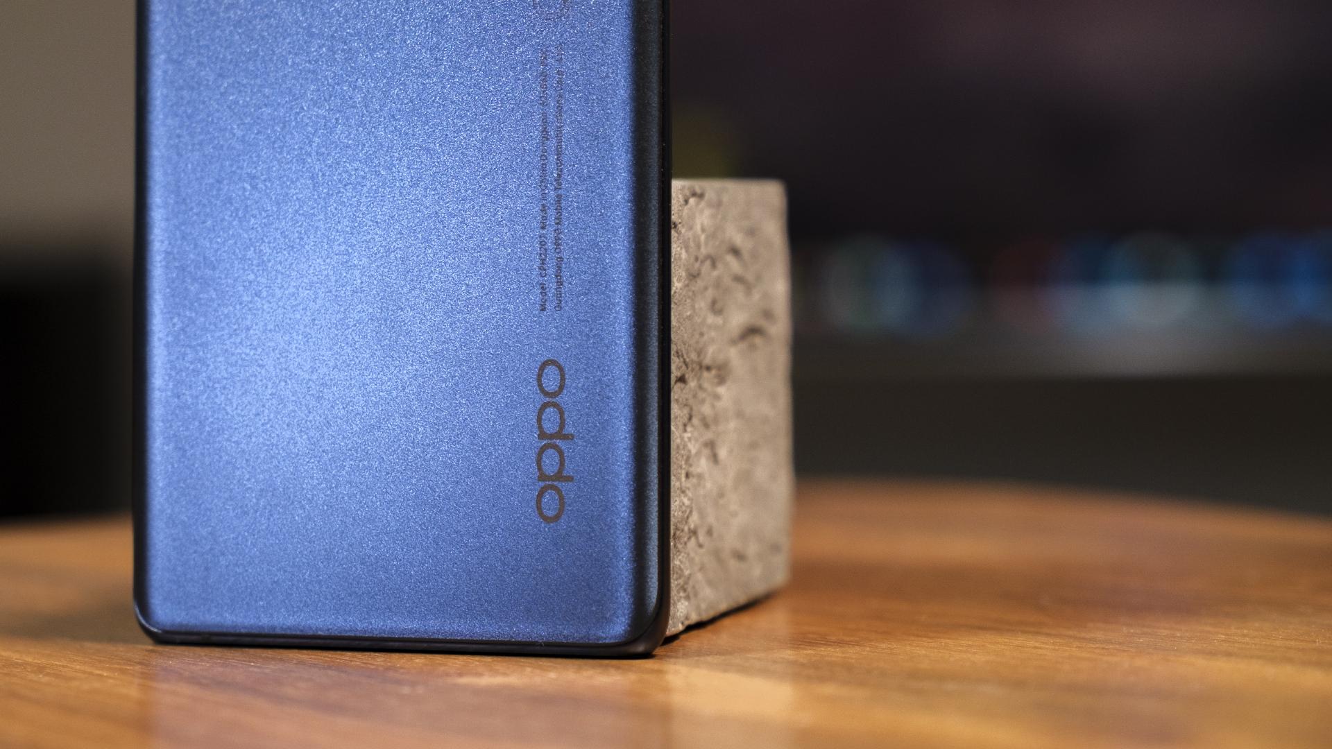 OPPO Find X3 Neo 5G Rückseite Logo Filler