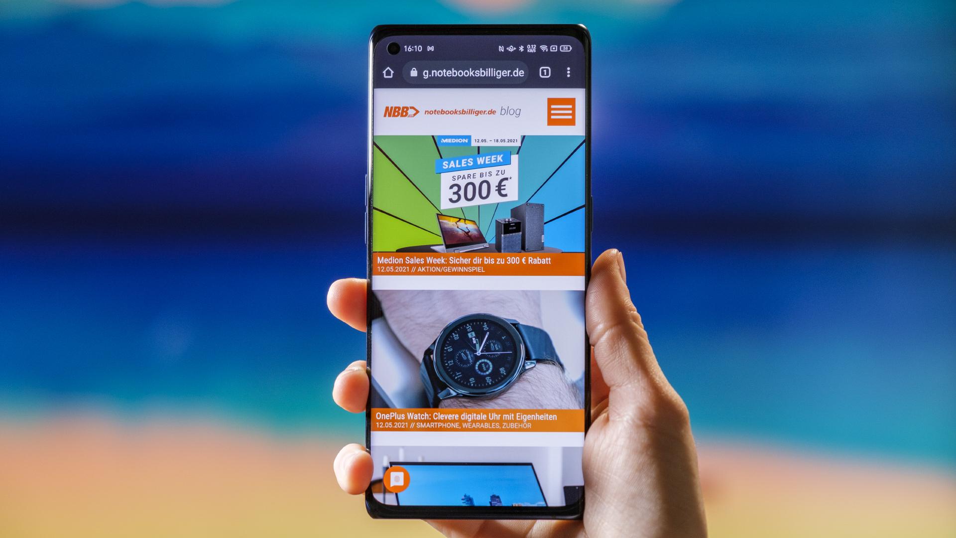 OPPO Find X3 Neo 5G Web Surfen
