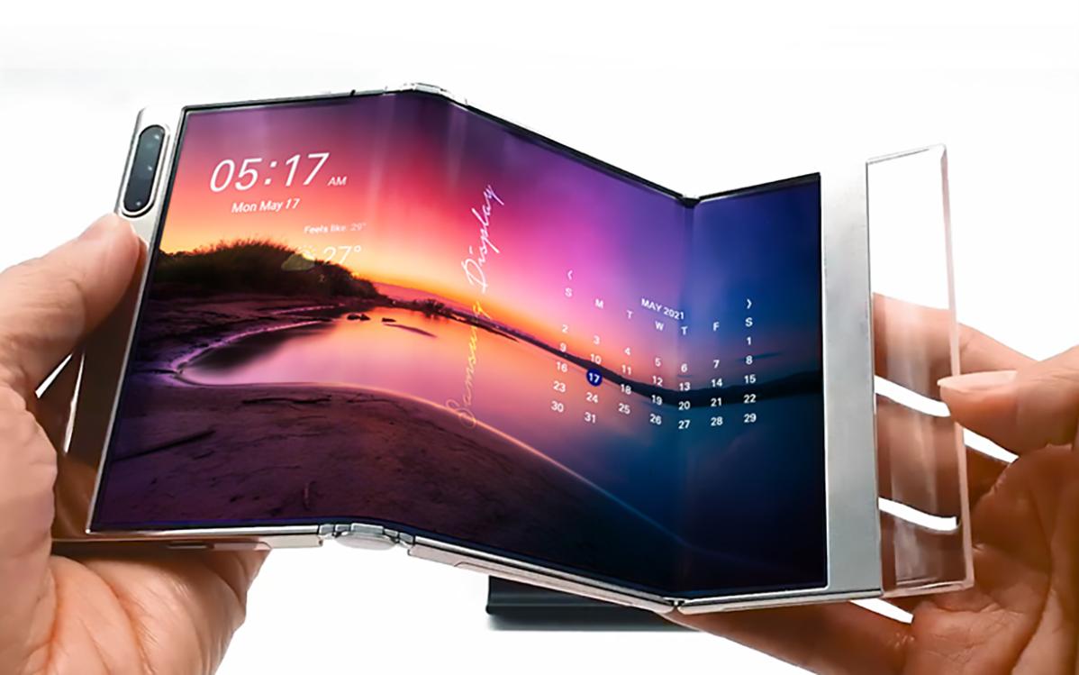 """Samsung: 17"""" Tablet und weitere Foldables auf der Display Week 2021"""