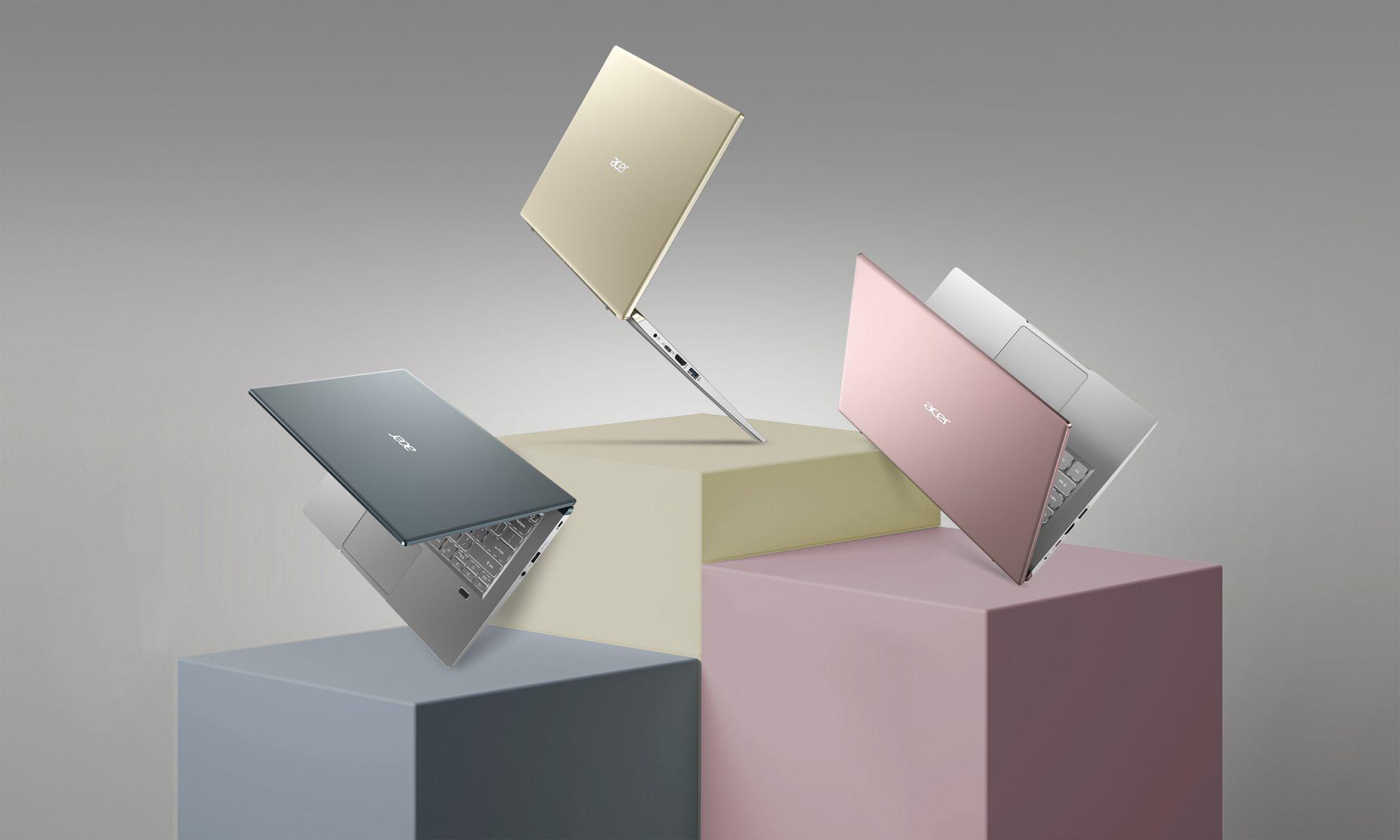 Acer Swift X vorgestellt: Klein, stylisch und mit viel Leistung