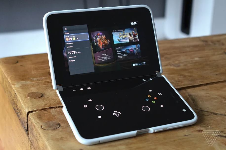 Xbox Game Pass Surface Duo via Tom Warren The Verge